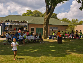 Family Self-Sufficiency Program picnic at Campau Park